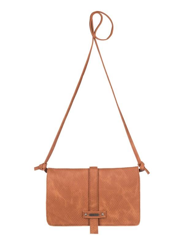 0 Globe Trotter - Vegan-Leather Cross Body Bag  ARJBA03025 Roxy