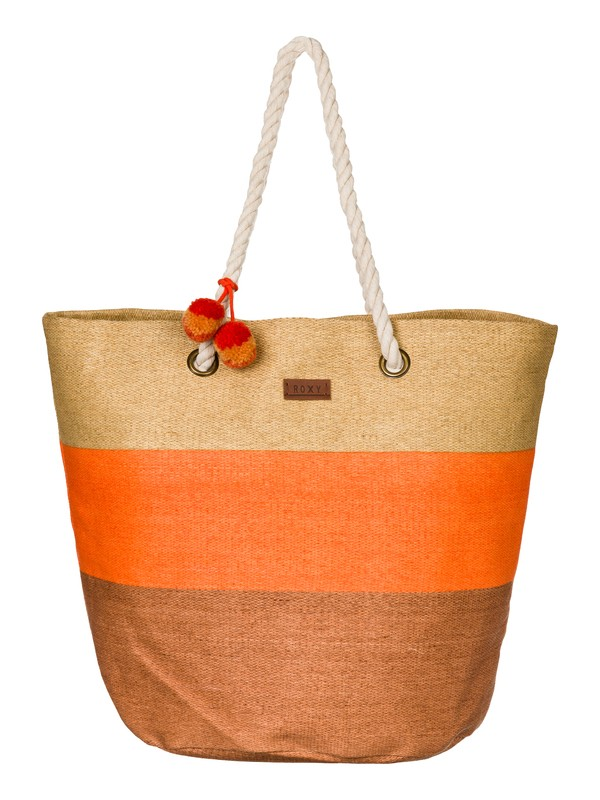 0 Sun Seeker - Straw Beach Tote  ARJBP03085 Roxy