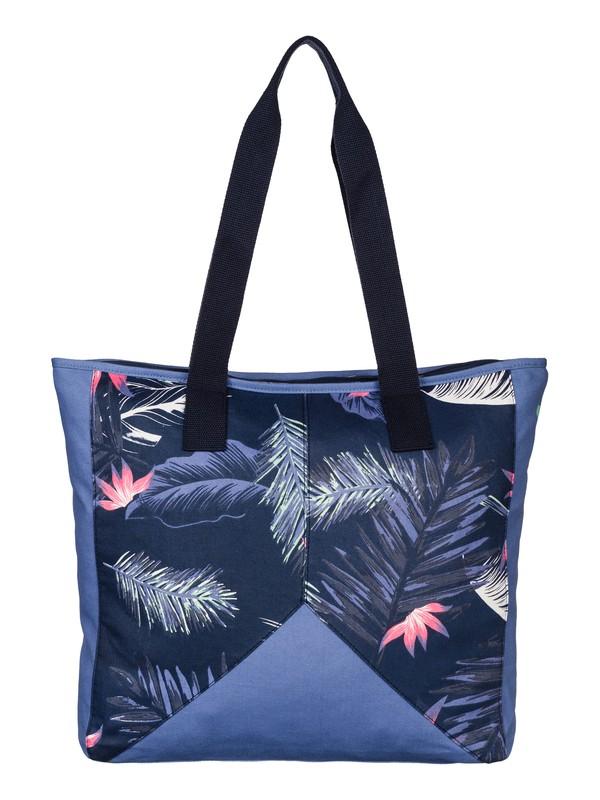 0 Tropicana - Cotton Canvas Tote Bag  ARJBP03091 Roxy