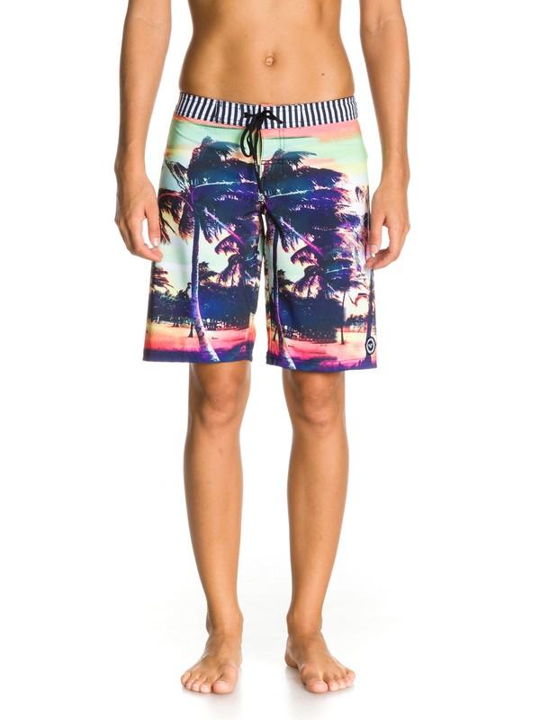 0 Sunset Stripe Boardshort  ARJBS00045 Roxy