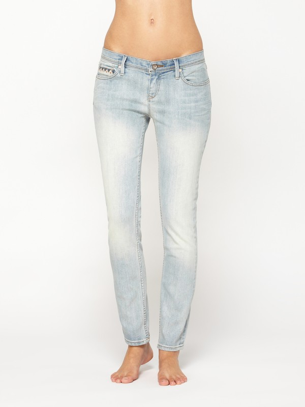 0 Sunburners Embroidered Jeans  ARJDP00008 Roxy