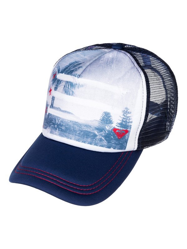 0 Coast Road Trucker Hat  ARJHA00069 Roxy