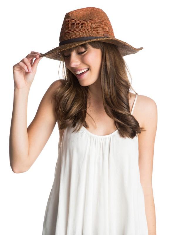 0 Adventure Straw Hat  ARJHA03074 Roxy