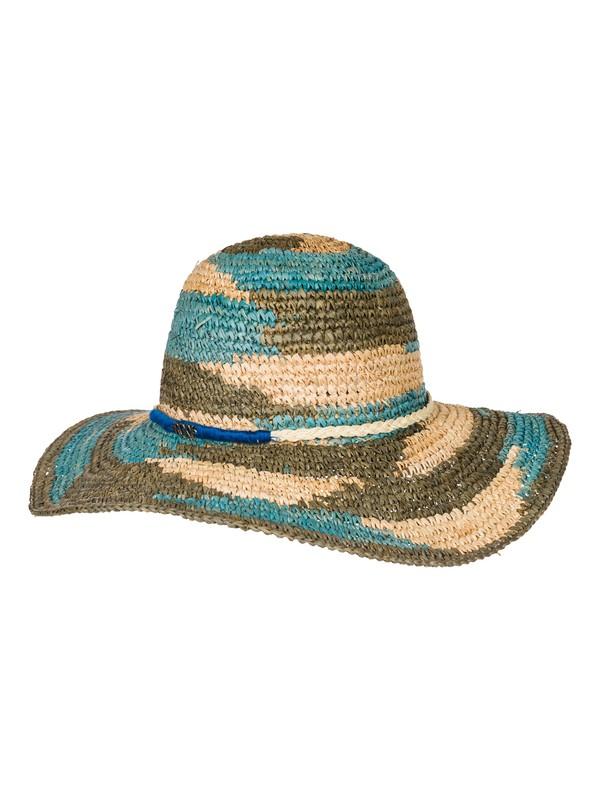 0 Strata - Floppy Raffia Sun Hat  ARJHA03088 Roxy