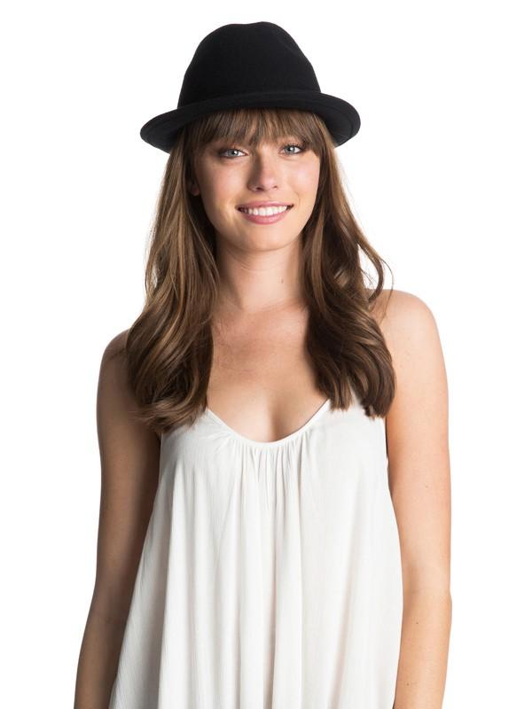 0 Back To You Wool Felt Hat  ARJHA03120 Roxy