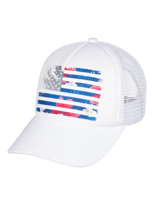 0 Truckin 4th Of July Trucker Hat  ARJHA03210 Roxy