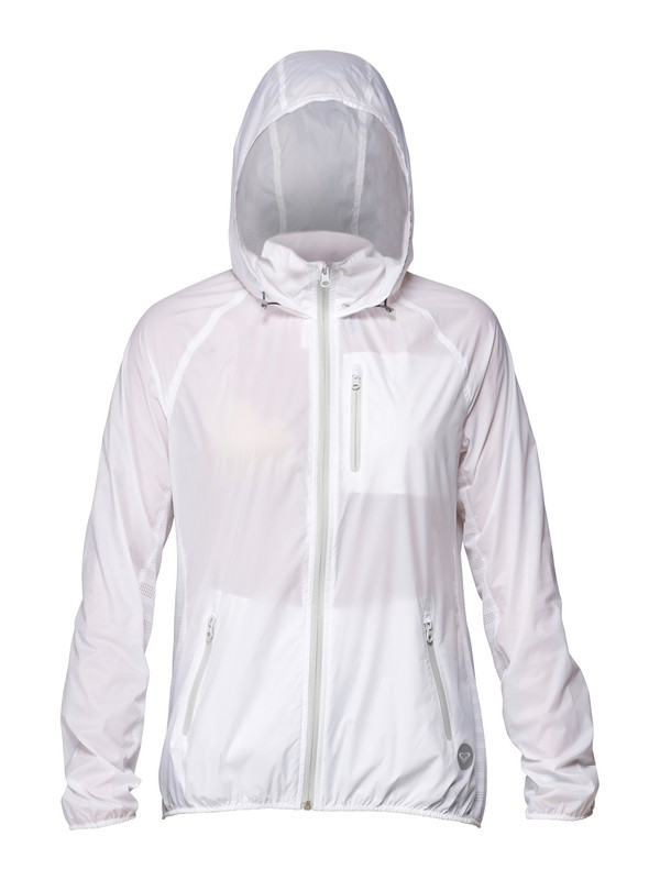 0 Featherlight Windbreaker White ARJJK00003 Roxy