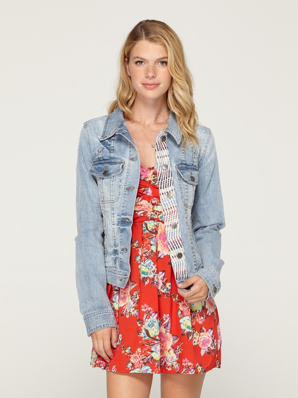 0 Dancing Shores Jean Jacket  ARJJK00022 Roxy