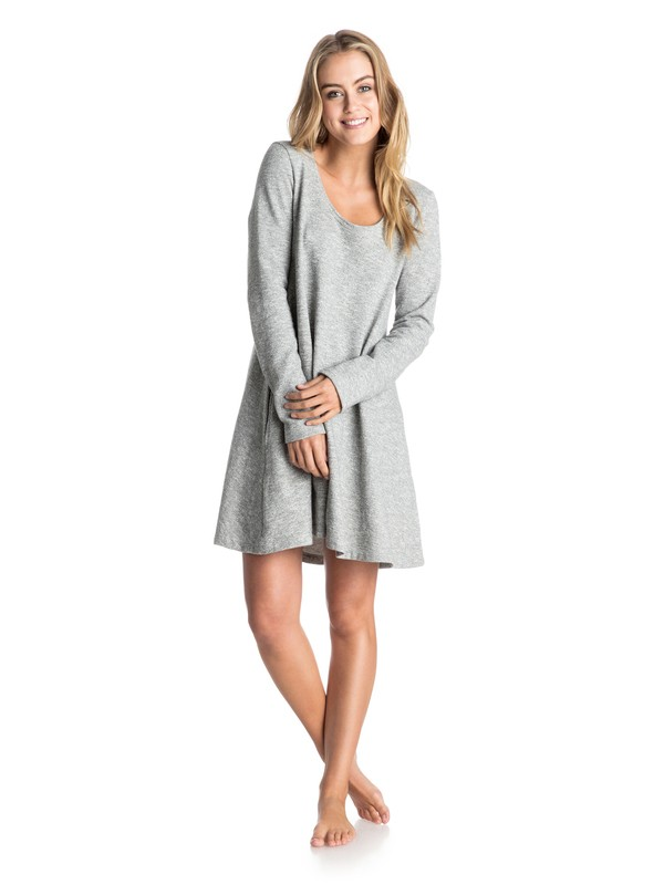 0 Starlight Beach - Long Sleeve Dress  ARJKD03086 Roxy