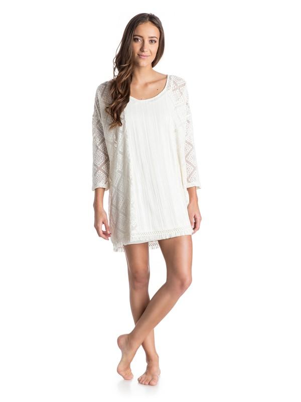 0 Wishbone Crochet Tunic Dress  ARJKD03098 Roxy
