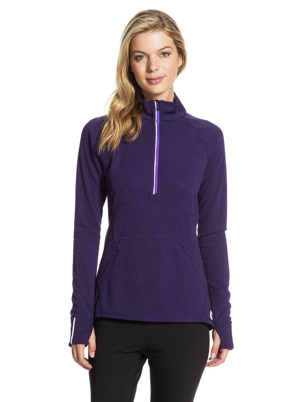 0 Dawn Runner Half Zip  ARJKT03017 Roxy