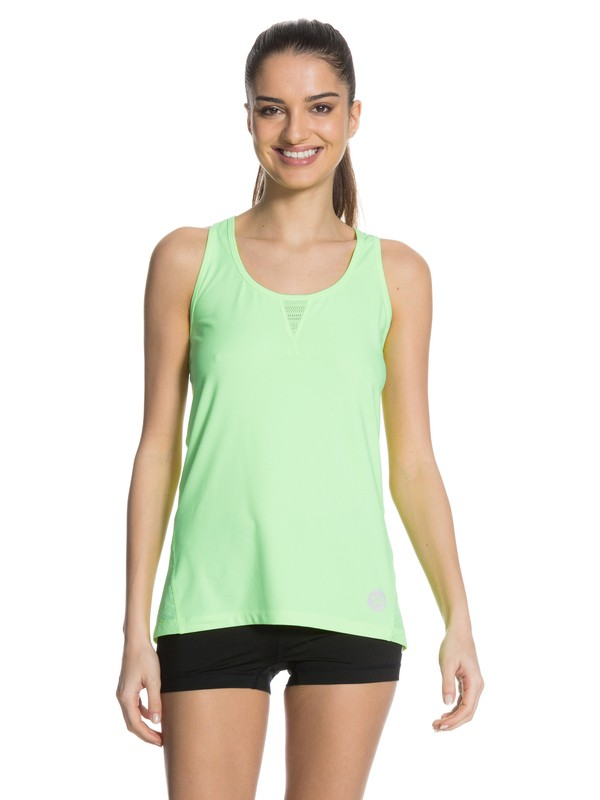 0 No Limits Tank Green ARJKT03022 Roxy