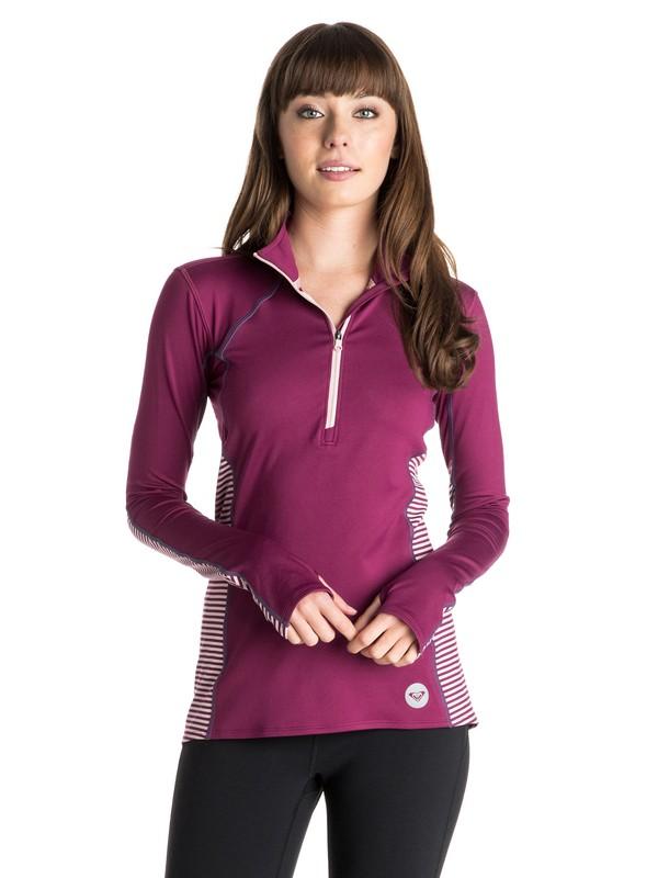 0 Twilight - Zip Pullover Top  ARJKT03129 Roxy