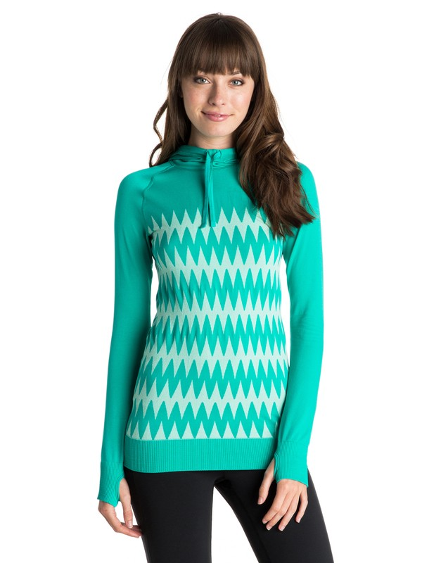 0 Stunner Seamless Hooded Top  ARJKT03134 Roxy