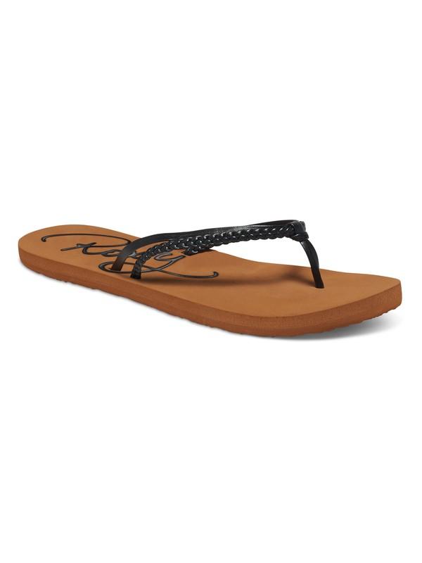 0 Cabo Flip Flops Black ARJL100251 Roxy