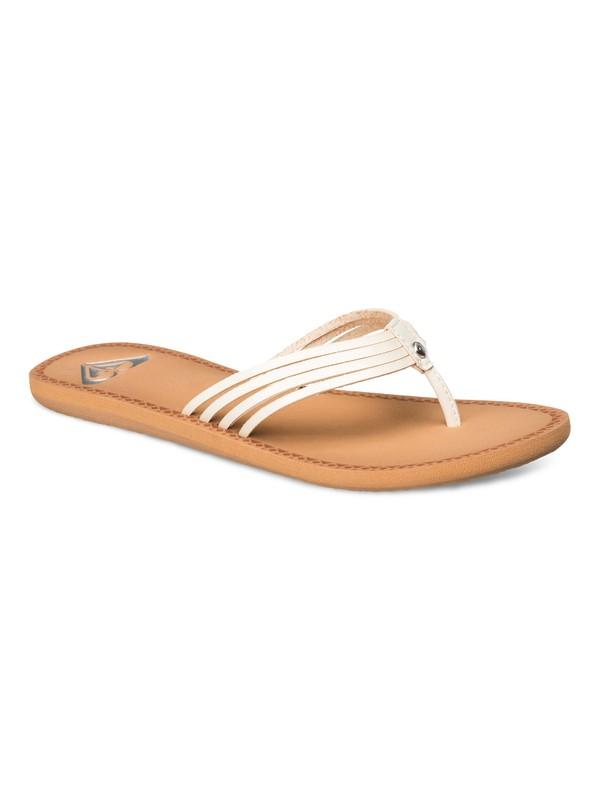 0 Riviera Sandals White ARJL100255 Roxy