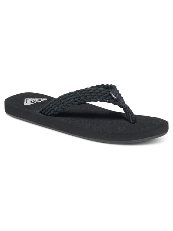 0 Porto - Flip-Flops Black ARJL100397 Roxy