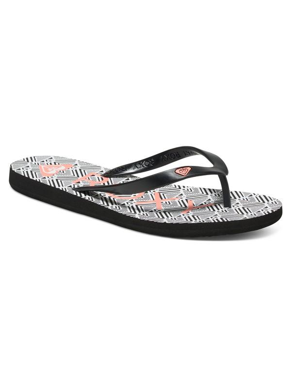 0 Tahiti Flip Flops  ARJL100433 Roxy