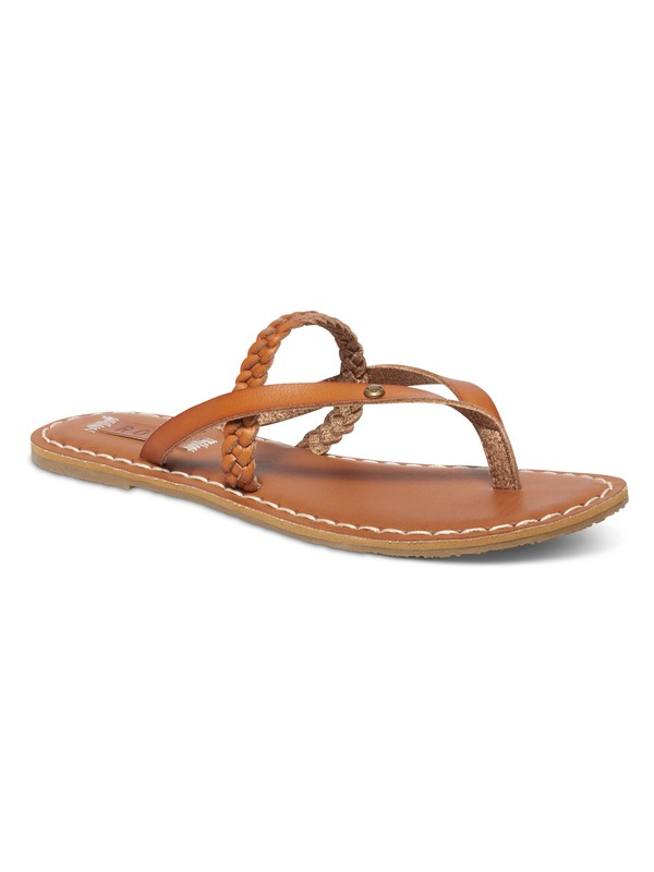 0 Lanae Sandals Brown ARJL100493 Roxy
