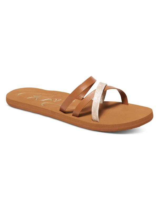 0 Benito Strappy Sandals Brown ARJL100542 Roxy