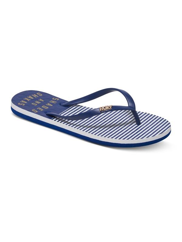 0 Viva Stamp - Flip-Flops Blue ARJL100543 Roxy