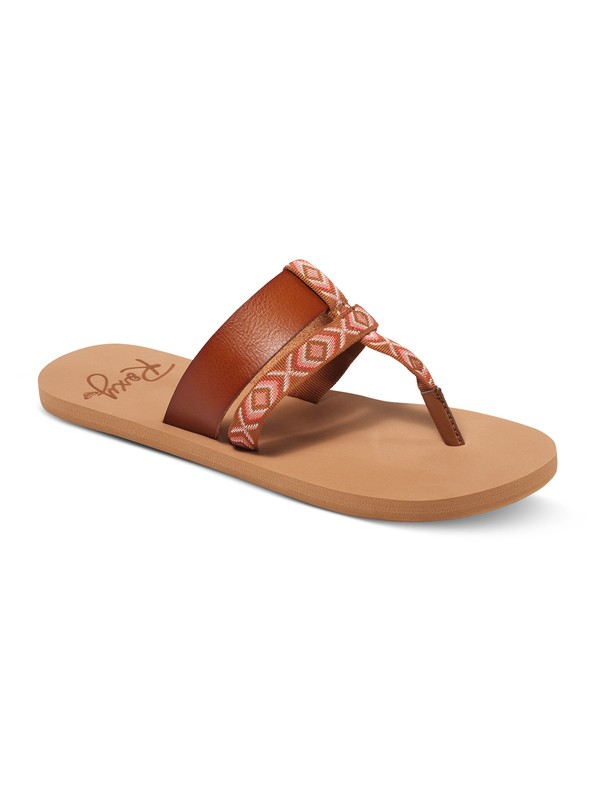 0 Kahula Sandals Brown ARJL100549 Roxy