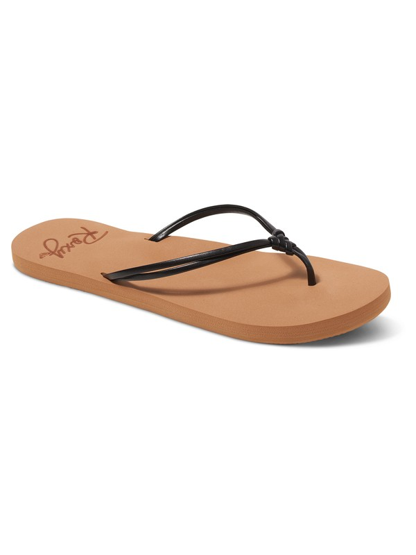 0 Lahaina Flip Flops Black ARJL100721 Roxy