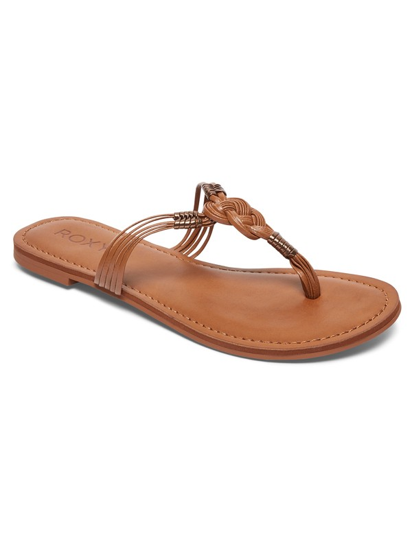 0 Teia Sandals Brown ARJL200565 Roxy