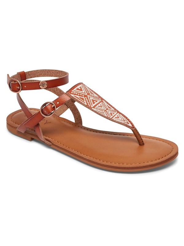 0 Milet Sandals Brown ARJL200566 Roxy
