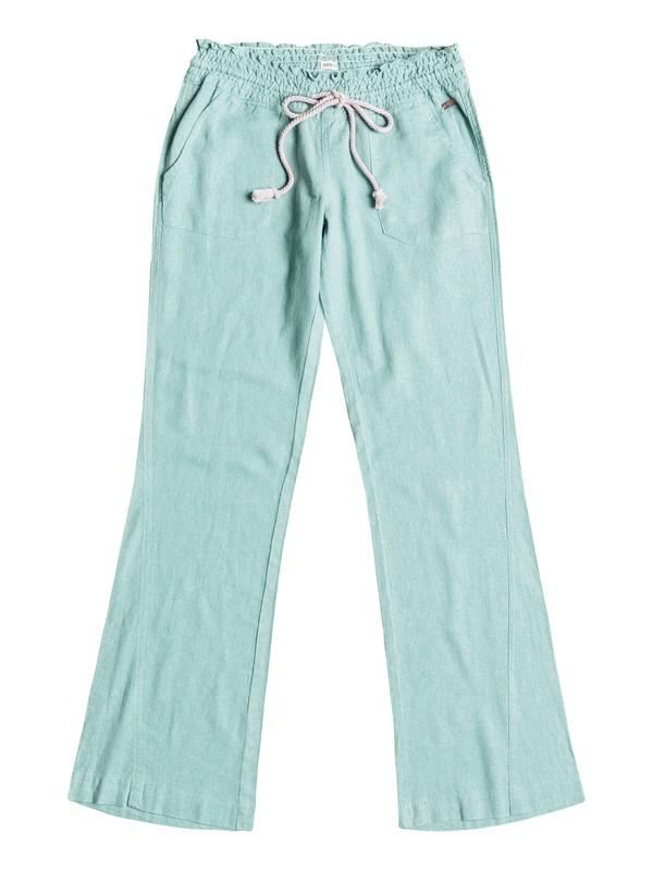 0 Oceanside Beach Pants Blue ARJNP03006 Roxy