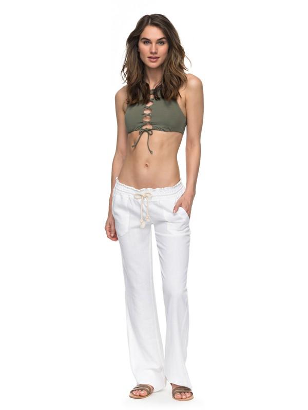 0 Oceanside Beach Pants White ARJNP03006 Roxy