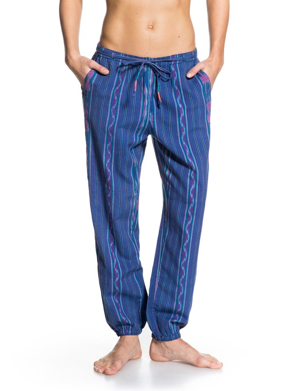 0 Midnight Rambler Stripe Pant  ARJNP03012 Roxy