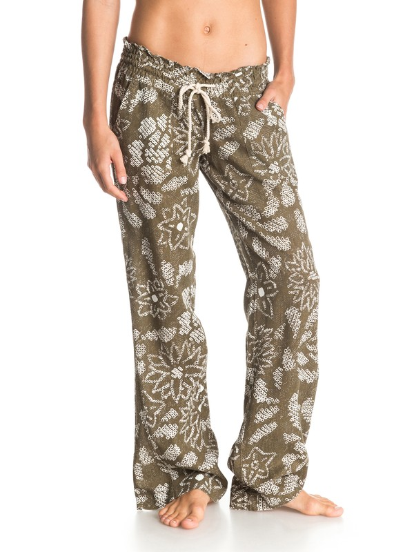 0 Oceanside Printed Beach Pants  ARJNP03013 Roxy