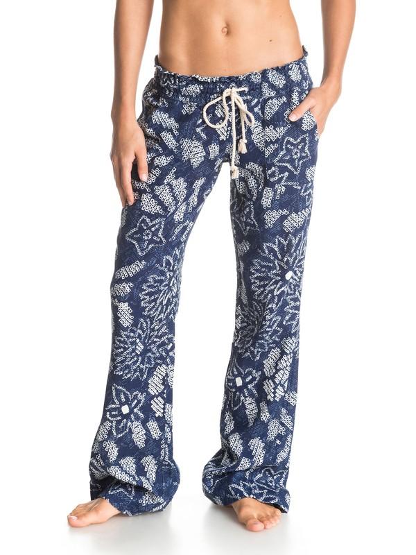 0 Oceanside Print - Printed Beach Pants  ARJNP03013 Roxy
