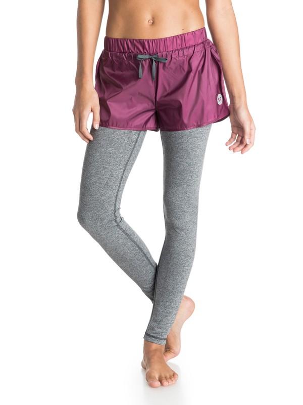 0 High Kick - Short avec legging intégré  ARJNP03056 Roxy