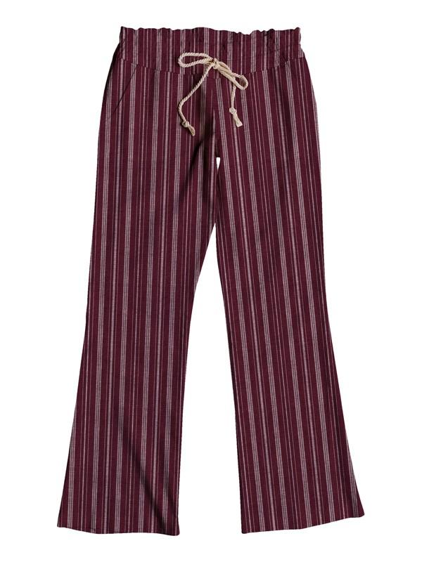 0 Oceanside Stripe Beach Pants  ARJNP03086 Roxy