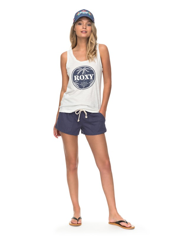 0 Oceanside Beach Shorts Blue ARJNS03007 Roxy