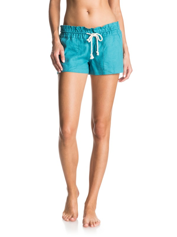 0 Oceanside Beach Shorts Blue ARJNS03007 Roxy