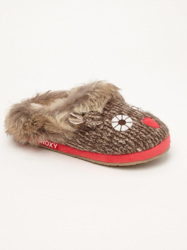 0 Hazelnut Slippers  ARJP100001 Roxy