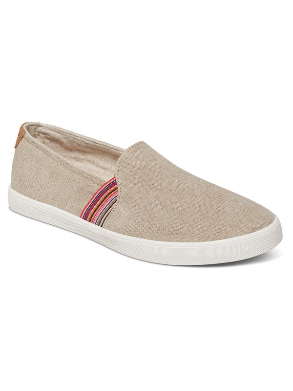 0 Atlanta Slip-On Shoes Brown ARJS300275 Roxy
