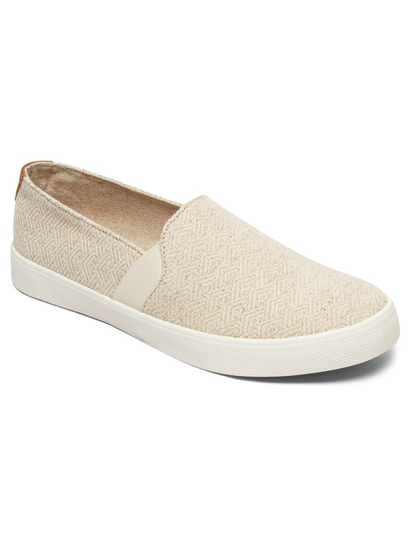 0 Atlanta  Slip On Shoes White ARJS300306 Roxy