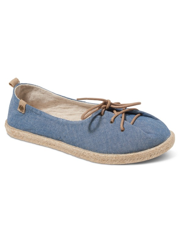 0 Flamenco Lace Up Slip-On Shoes Blue ARJS600396 Roxy
