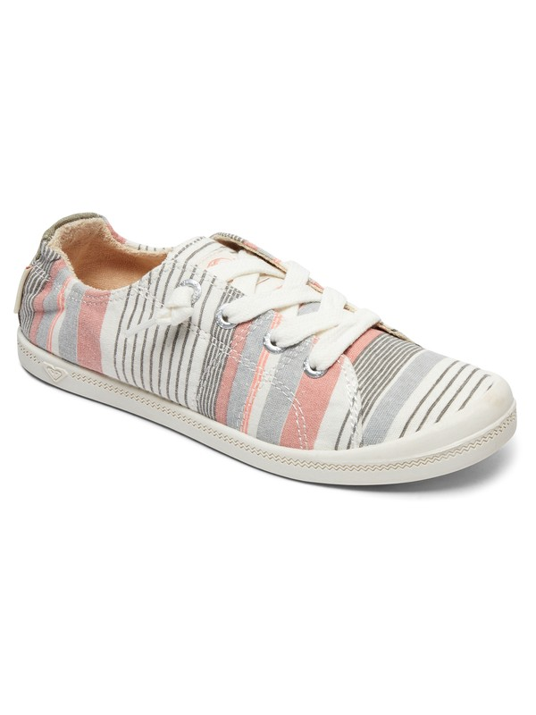0 Bayshore Lace Up Shoes Grey ARJS600418 Roxy