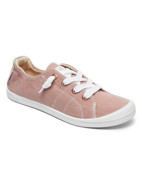 0 Bayshore Lace Up Shoes Pink ARJS600418 Roxy