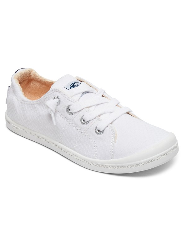 0 Bayshore Lace Up Shoes White ARJS600418 Roxy