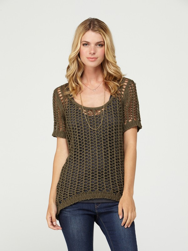 0 Just in Time Top  ARJSW00059 Roxy