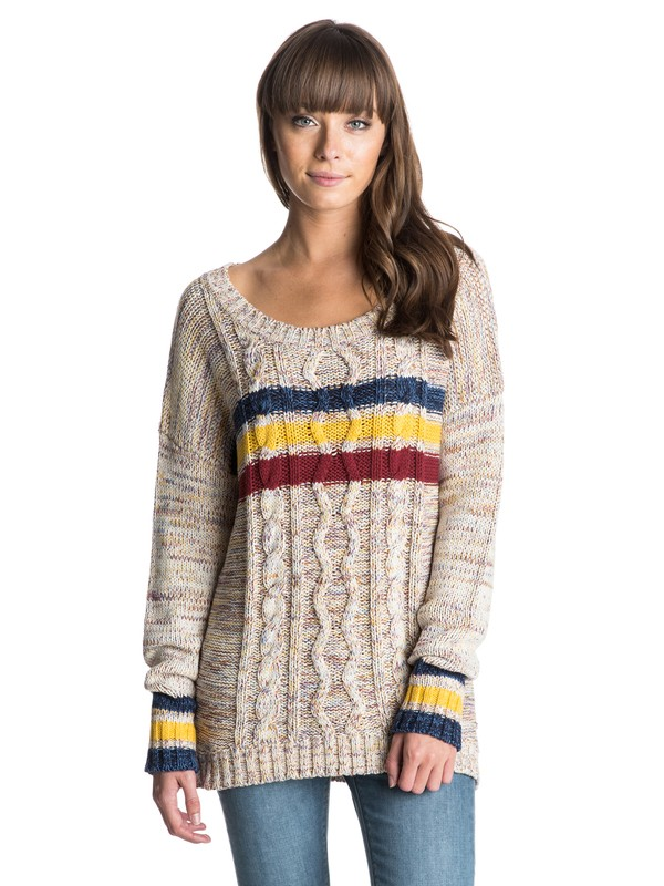 0 Fisherman Sweater  ARJSW03029 Roxy