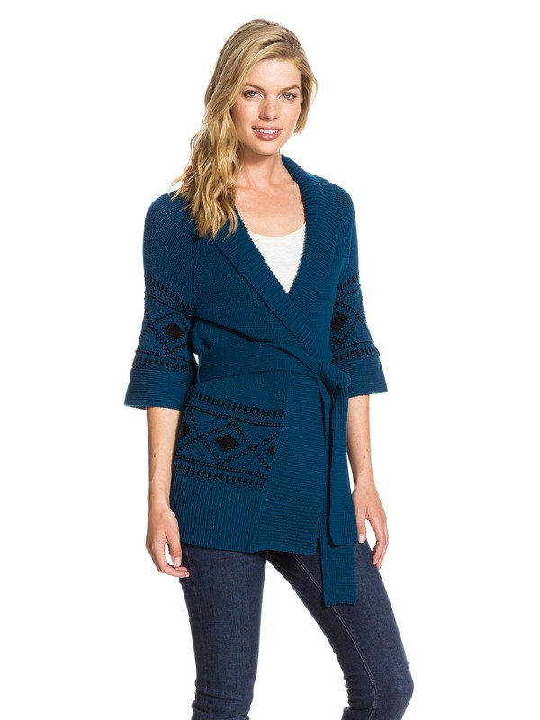 0 Coast Road Sweater Blue ARJSW03037 Roxy