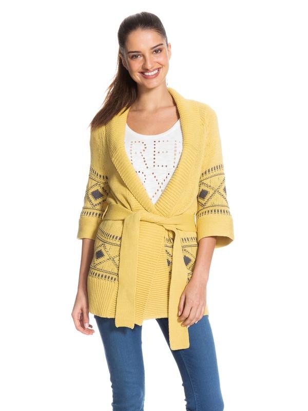 0 Coast Road Sweater Yellow ARJSW03037 Roxy