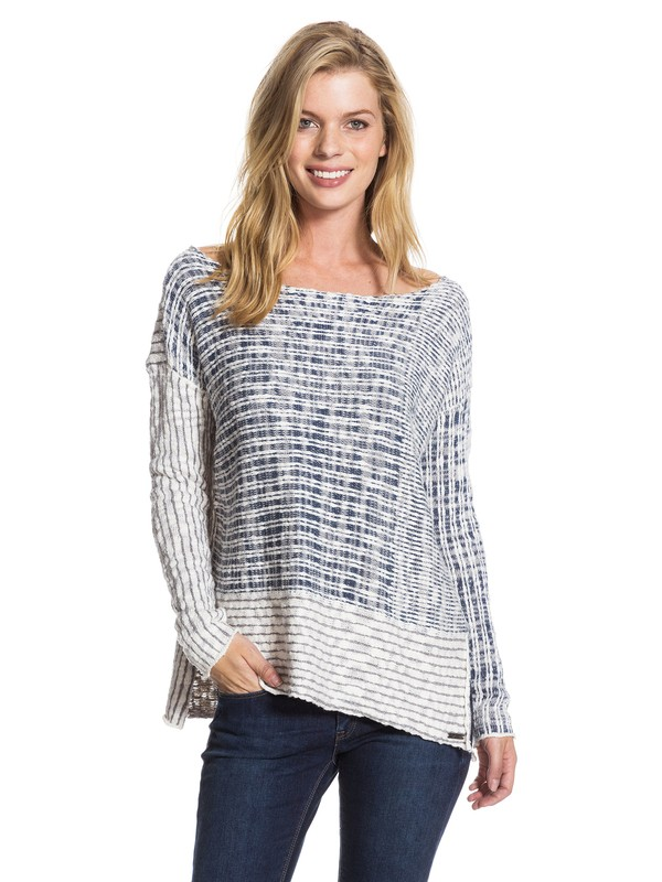 0 True Blue Sweater  ARJSW03038 Roxy